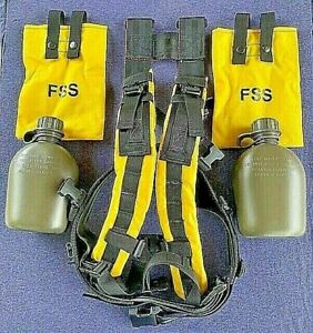 New 6 Piece Firefighter Wildland Web Gear Set hunting Fishing Hiking Camping