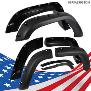 Black Fender Flares Fit For Jeep Cherokee Xj 4dr Sport Utility 84 01 Textured