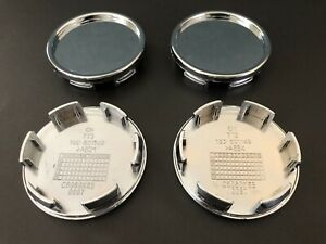 4 Pcs Universal Chrome Wheel Center Caps 2 1 4 New Free Shipping