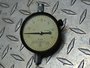 Starrett Model 25 145 Dial Indicator Gauge 001
