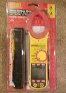 Nip Sperry Instruments Digital Clamp Meter Snap Around Dsa 1020 Trms With Bag