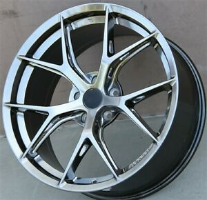 Set 4 19 19x8 5 5x112 Et35mm Wheels Fit Audi A4 S4 A5 A6 Vw Jetta Passat Gti