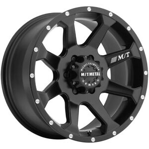 Mickey Thompson Mm 366 20x9 5x150 18mm Black Milled Wheel Rim 20 Inch