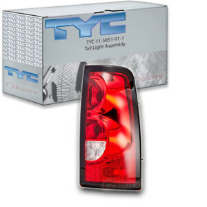 Tyc 11 5851 91 1 Tail Light Assembly For General Motors 19169005 Sz