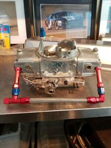Barry Grant 850 Cfm Speed Demon Carburetor With Fuel Line