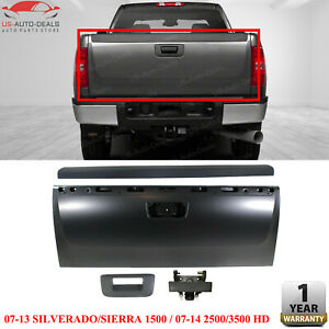 Tailgate Kit For Chevrolet Silverado 1500 4pc With Tailgate Handle And Molding