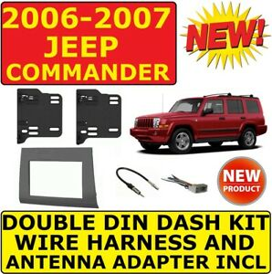 2006 2007 06 07 Jeep Commander Car Radio Stereo Installation Dash Kit 95 6556g
