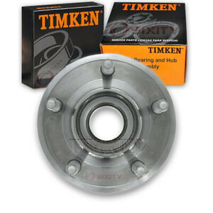 Timken Front Wheel Bearing Hub Assembly For 2005 2007 Avanti Avanti Left Sd