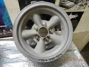 Vintage 14x6 E t Ii Torq thrust Wheel Ford chevy 5 On5 Pattern 442 Gto Chevelle