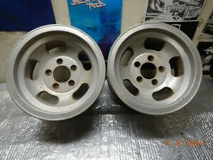 Vintage Appliance Slot Mag Wheels 14x7 Chevy Ss Mags Gto 442 Chevelle Nova 442