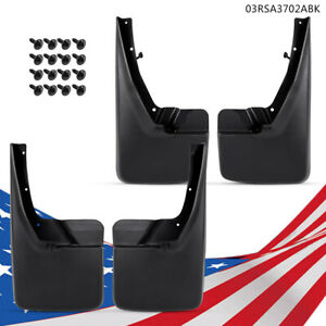 New Splash Guards Mud Flaps Fit For 09 18 Dodge Ram 1500 2500 3500 Front Rear