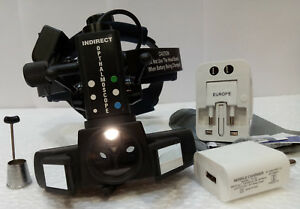 Indirect Ophthalmoscope With Accessories With 20 D Lens