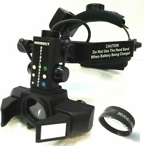 Free Shipping Indirect Ophthalmoscope With 20 D Lens Carry Bag Accessory