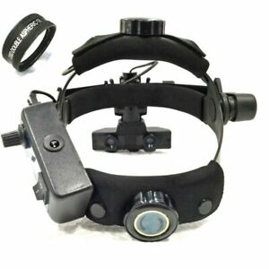 Free Shipping Brand New Indirect Ophthalmoscope With 20 D Lens Accessories