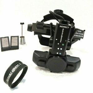 Brand New Led Indirect Ophthalmoscope With 20 D Lens Accessories