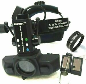 Shipping Indirect Ophthalmoscope With 20 D Lens Accessories