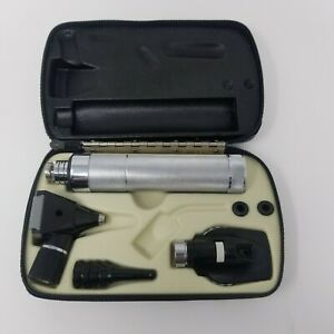 Welch Allyn Otoscope Ophthalmoscope Diagnostic Set With New 3 5v Rechargeable