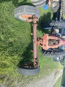 Farmall M Sm Adjustable Wide Front End used With Beat Harvester
