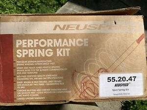 Neuspeed Sport Spring Set 02 04 Acura Rsx 55 20 47 Low Lowering Lower