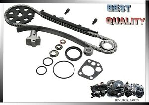 Timing Chain Kit For Nissan Pickup 95 97 Stanza 90 92 D21 90 94 Axxess 1990 2 4l