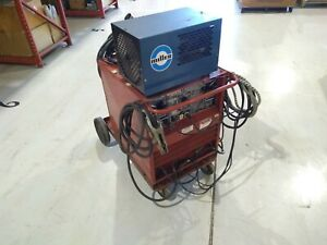 Lincoln Tig 250 250 Idealarc Welder 8329 c With Miller Radiator 1 Cooling System