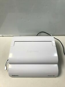 Fellowes Pulsar e 300 Electric Comb Binder Paper Spiral Binding Machine Coil