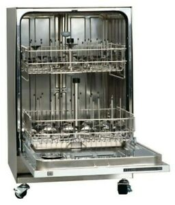Vwr Glassware Washer With Di Rinse Spindle Rack Ready freestanding And Mobile