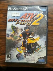 ATV Offroad Fury 2 Not For Resale Playstation 2 PS2 Complete Good Cond.