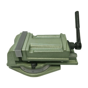 Heavy Duty 5 Milling Vise With Swivel Base 360 Degree Rotation