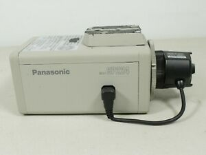 Panasonic Cctv Camera Model Wv cp224 24 Volts 60hz 3 5watt 75 Ohm