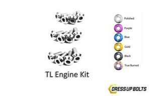 Dress Up Bolts For Acura Tl 2004 2008 Titanium Engine Kit Polished