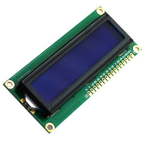 1602a 5v Backlight Screen With Lcd 1602 2016 Display For Arduino Blue Module