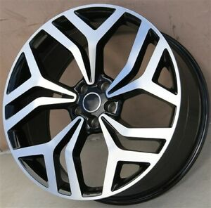 Set 4 22 22x9 5 5x120 Wheels Fit Range Rover Supercharged Turbo Svr Hse Sport