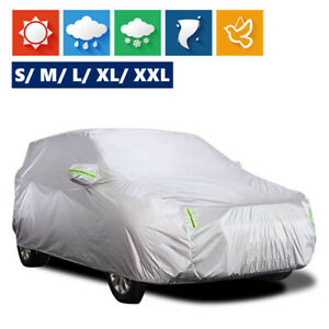 Suv Full Car Cover Breathable Sun Uv Snow Dust Rain Resistant Protection E6b4