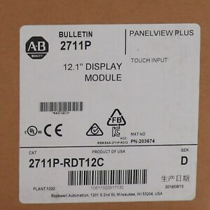Stock Allen Bradley 2711p rdt12c Panelview Plus Display Module New