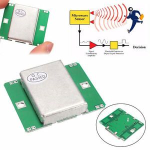 New Hb100 Microwave Motion Sensor 10 525ghz Doppler Radar Detector For Arduinokf