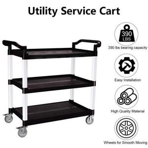 3 tier Storage Cart Rolling Utility Cart Storage Shelf Rack For Kitchen Office