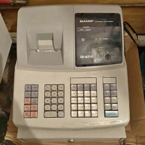Sharp Xe a21s Electronic Cash Register