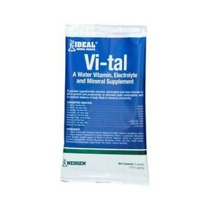 Vi tal Livestock Electrolytes 6 Ounce Packet 128 384 Gallons Water Or Feed Su