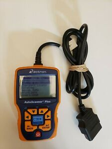 Actron Autoscanner Plus Code Connect