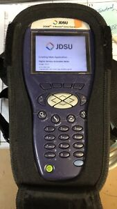 Jdsu Dsam 3300 Xt 3300 Cable Tester Docsis 3 0 W Extended Battery And Case