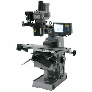 Jet 690576 Jtm 949evs 230 Mill With 3 axis Acu rite G 2 Millpwr Cnc