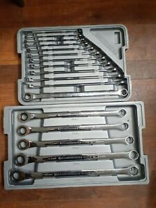 Gearwrench 17pc Metric Xl Gear Box Double Box Ratcheting Wrench Set 81955t