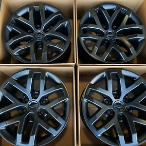 17 Ford F150 F 150 Raptor Truck Satin Black Wheels Rims Factory Oem Set