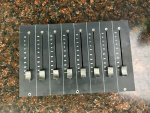 Solid State Logic SSL Console Mixer C100 HDS 8 channel moving Fader pack