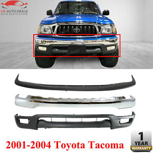 Front Bumper Chrome Trim Air Deflector Lower Valance For 2001 2004 Toyota Tacoma