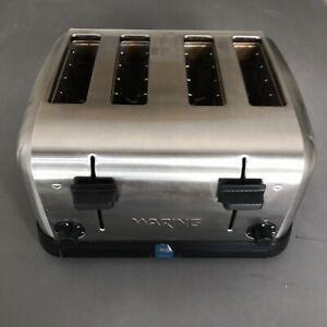 Waring 4 slot Commercial Toaster Wct708 Restaurant Grade Tested