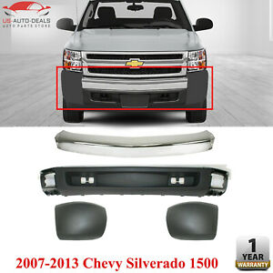 Front Bumper Kit For 2007 2008 Chevrolet Silverado 1500 Extended Cab Pickup