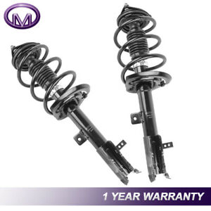 2 Pcs Front Complete Shock Struts For Jeep Patriot Compass Dodge Caliber Fwd Awd