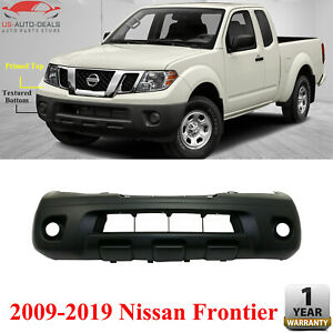 Front Bumper Primed Textured Bottom For 2009 19 Nissan Frontier